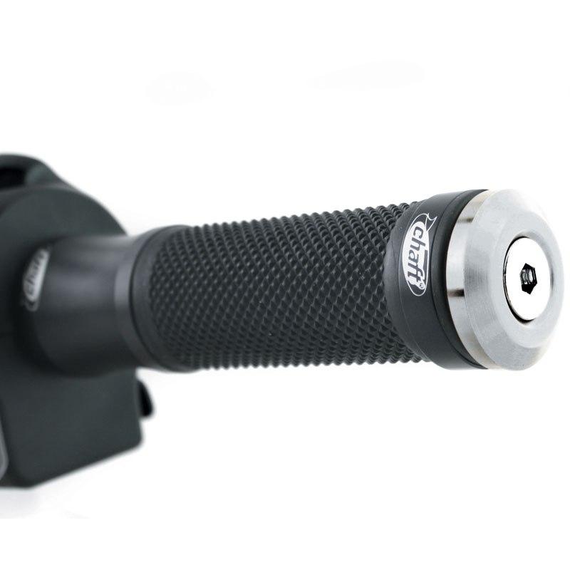 embouts de guidon chaft universel diametre 13 8 a 17 mm poste de pilotage. Black Bedroom Furniture Sets. Home Design Ideas