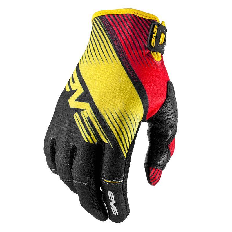 Gants Cross Evs Pro Vapor Black Yellow Red