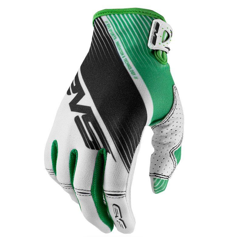 Gants Cross Evs Pro Vapor White Black Green