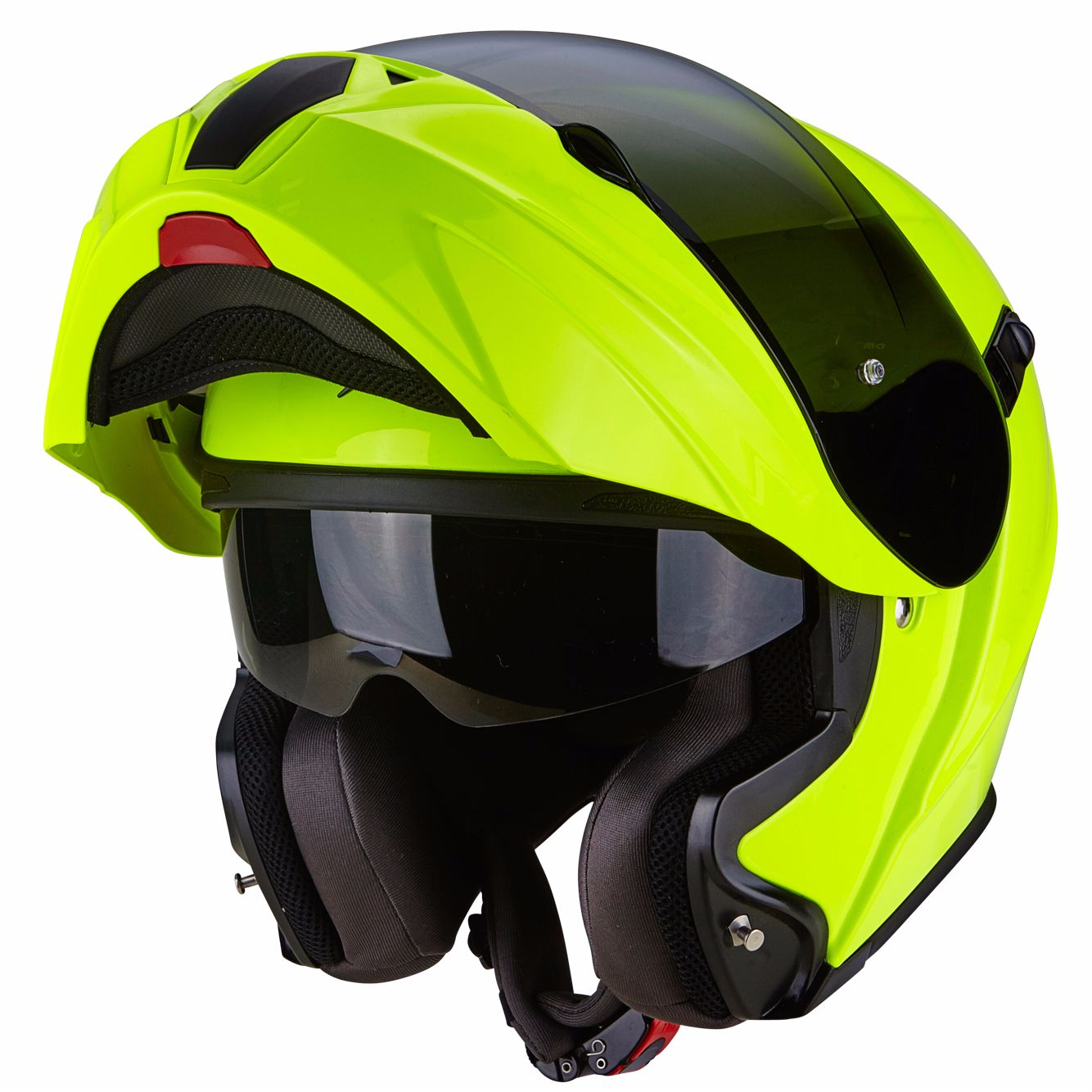 casque scorpion exo exo 920 solid fluo casque modulable. Black Bedroom Furniture Sets. Home Design Ideas