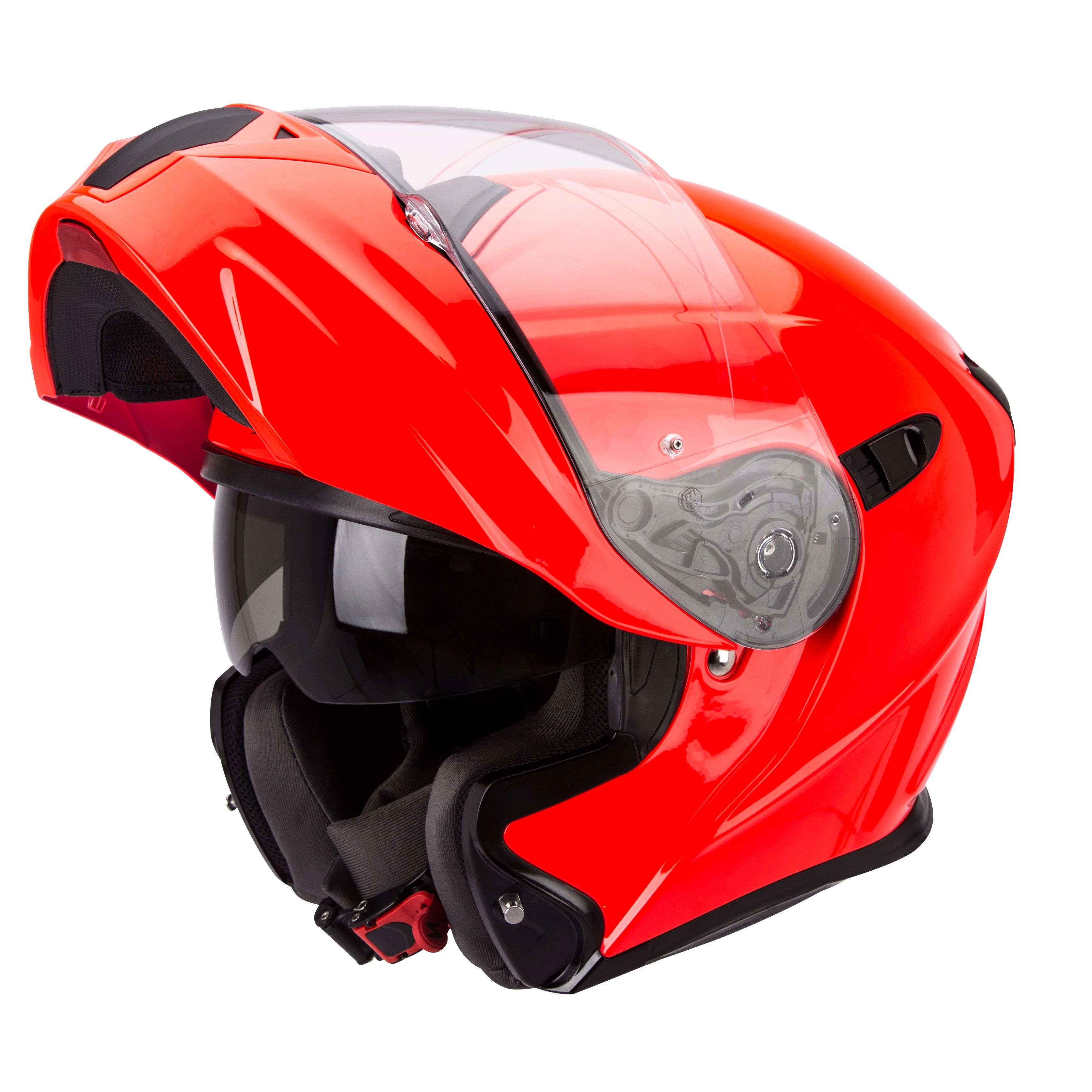 Casque Scorpion Exo Exo 920 Solid Fluo Casque Modulable
