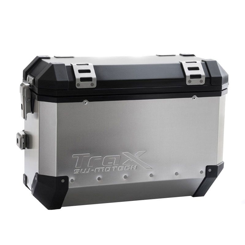 Valise SW-MOTECH KIT COMPLET TRAX EVO GRIS ANODISE 45/37 L