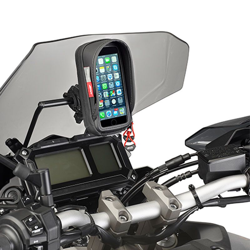 support givi chassis pour support gps high tech moto. Black Bedroom Furniture Sets. Home Design Ideas