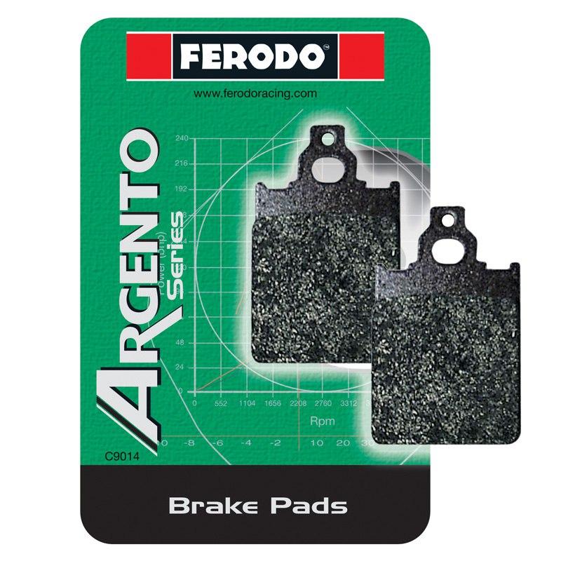 Plaquettes De Freins Ferodo Fdb207ag Type Organique Avant Gauche/arrière (selon Modèle)