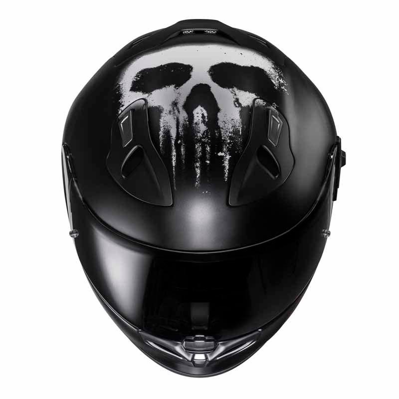 Casque moto punisher
