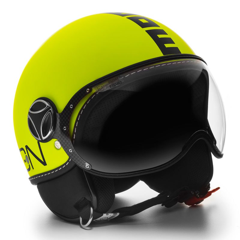 Casque Momo Design Fighter Fluo