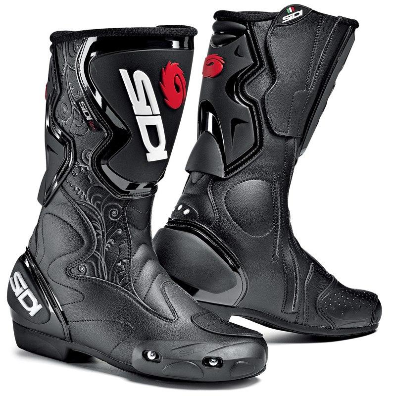 Sidi Fusion Bottes de Moto Noir 37
