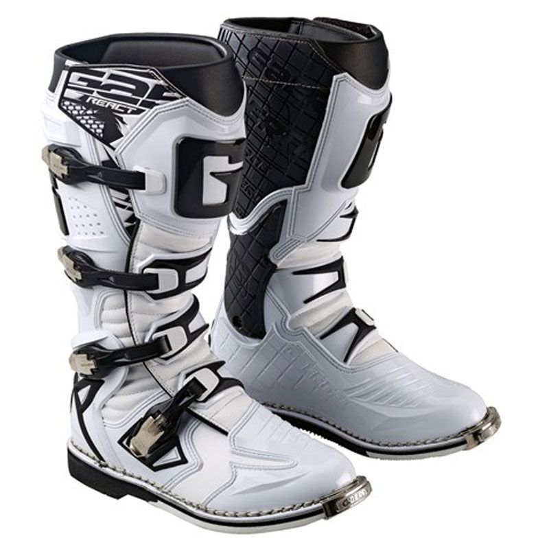 Bottes cross Gaerne G REACT GOODYEAR WHITE  2017
