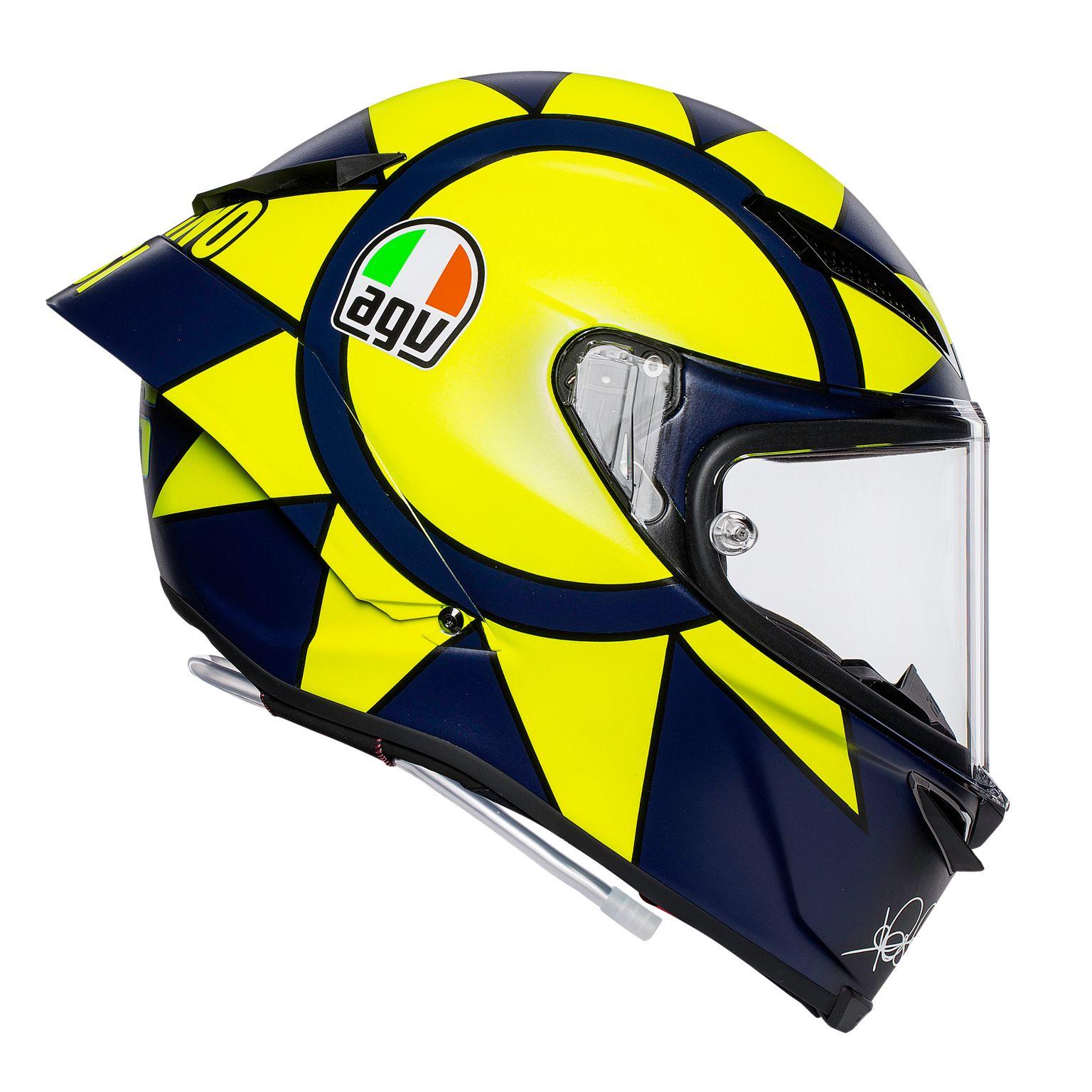 Un casque réplica Valentino Rossi