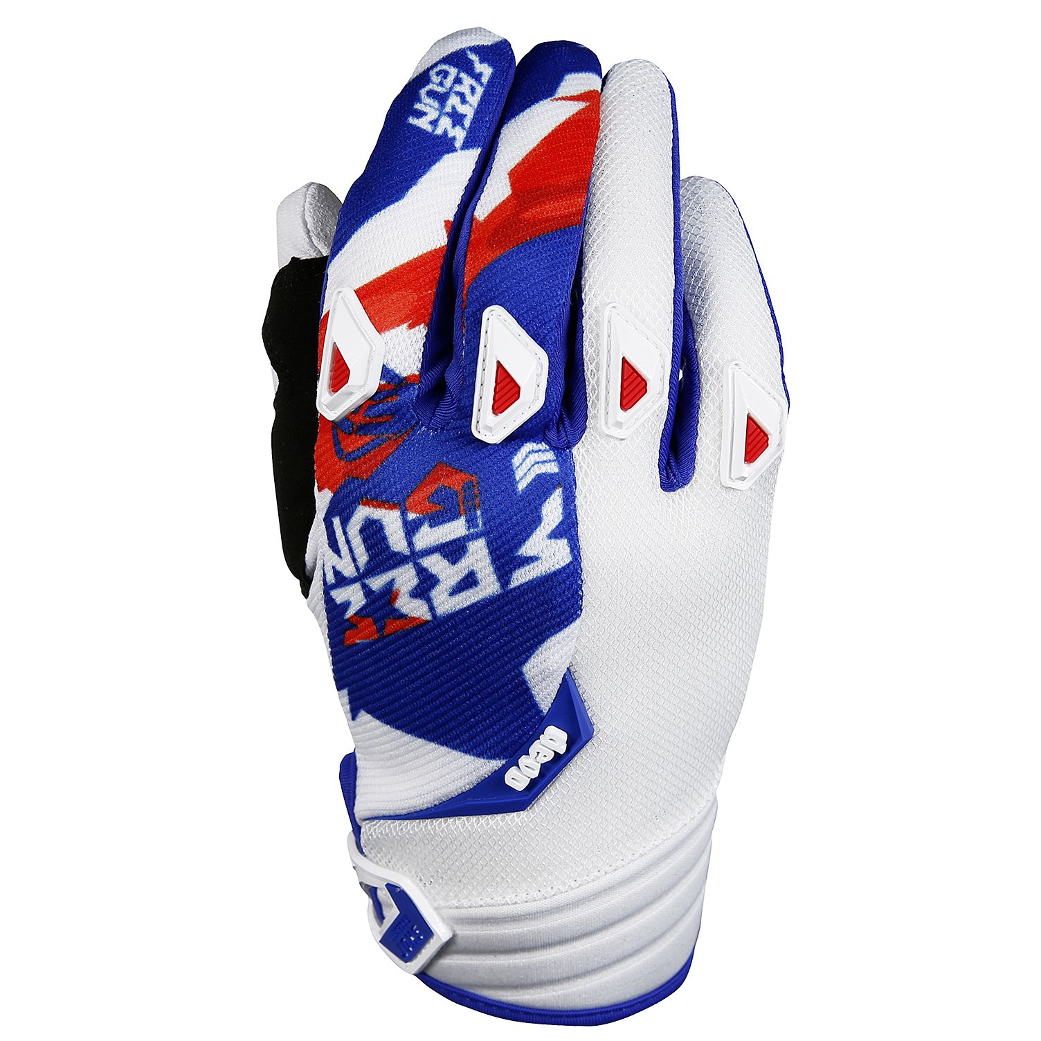 Gants cross Shot destockage DEVO HONOR BLEU ROUGE  2017