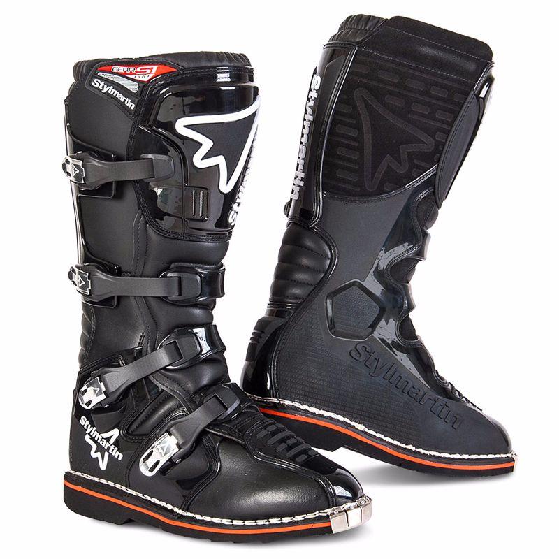 Bottes Cross Stylmartin Gear Mx - Noir