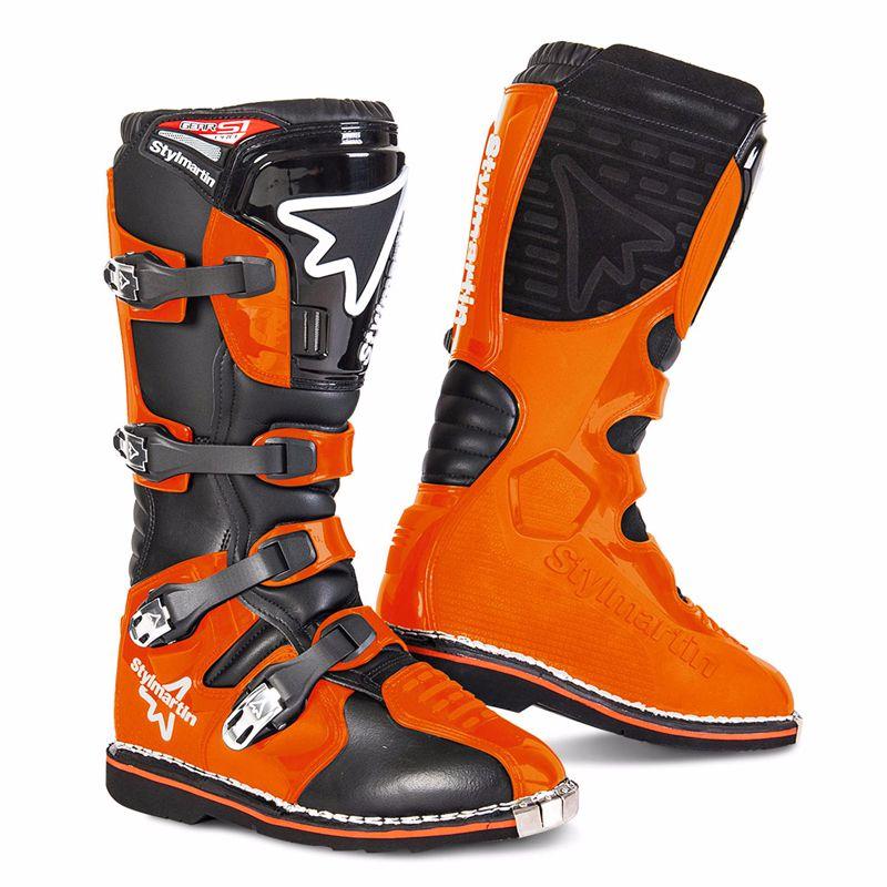 Bottes Cross Stylmartin Gear Mx - Orange