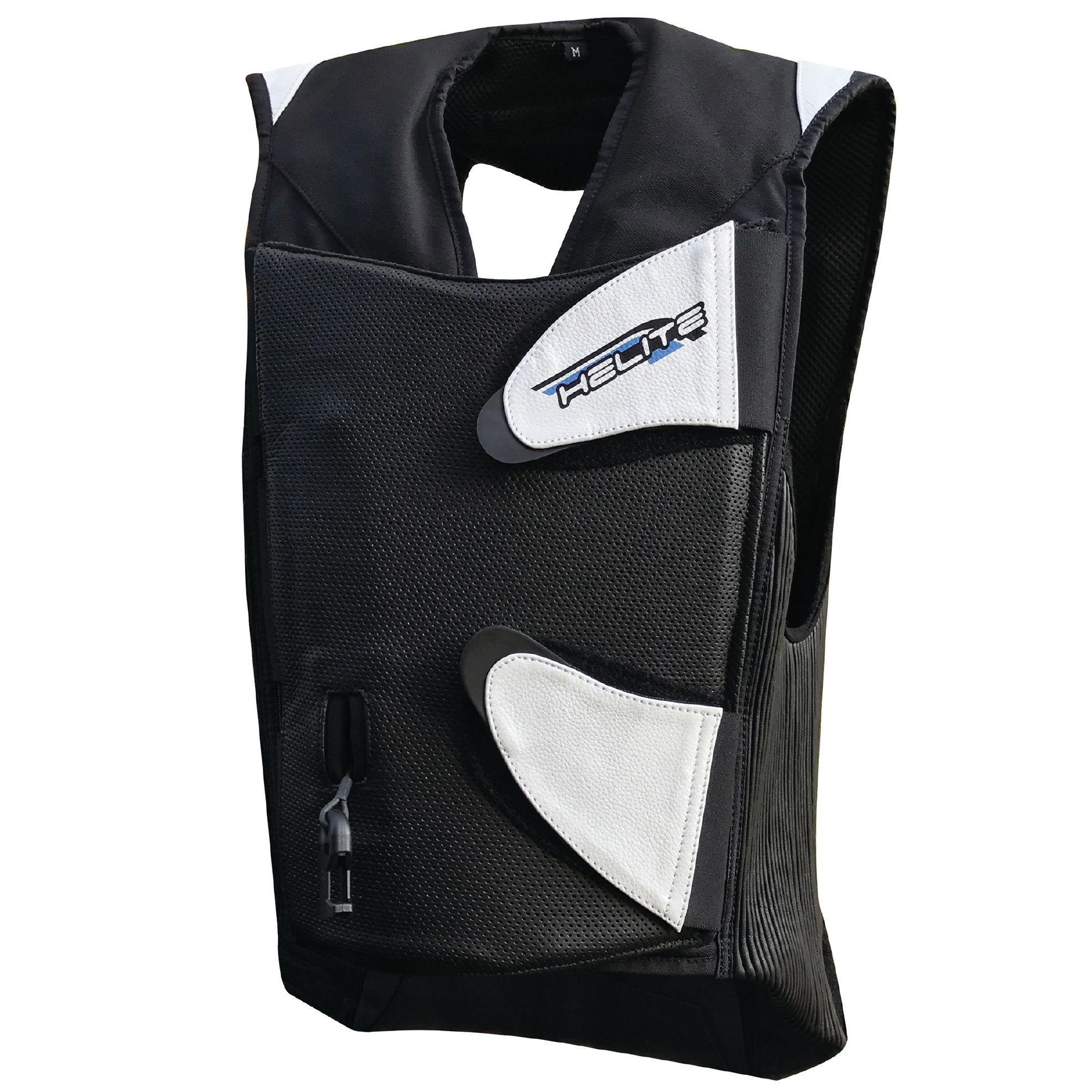 gilet airbag helite gp air cuir blouson et veste. Black Bedroom Furniture Sets. Home Design Ideas
