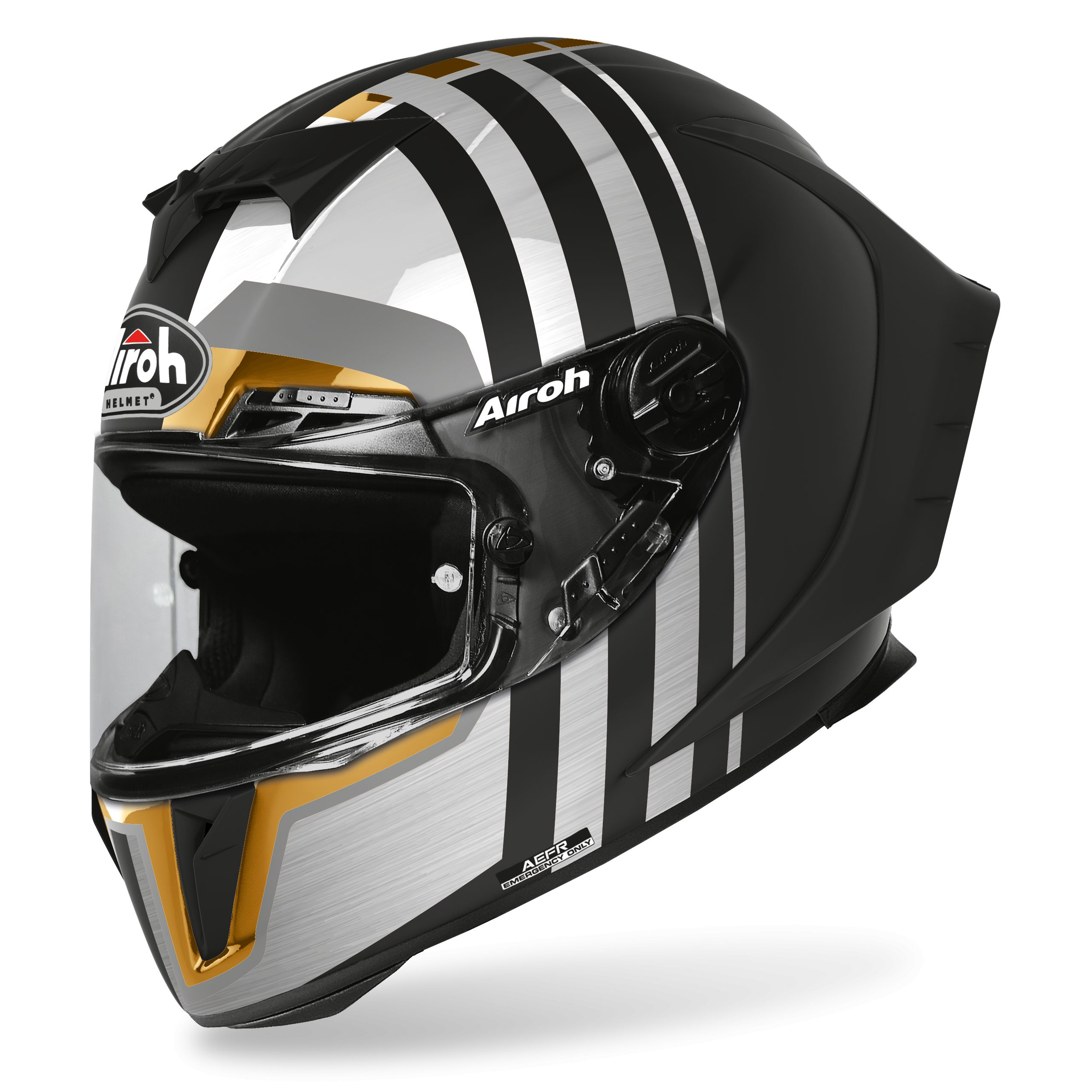 Casque Airoh GP550 S - SKYLINE - GOLD LIMITED EDITION