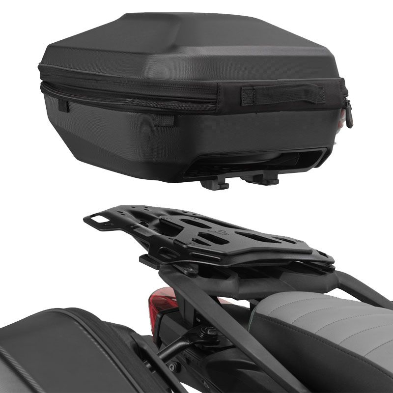 Top case SW-MOTECH URBAN AVEC SUPPORT ADVENTURE RACK