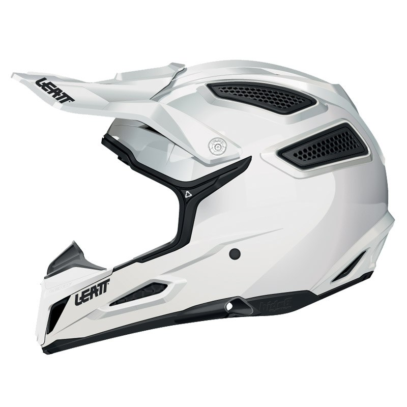 Casque Cross Leatt Gpx 5.5 Composite - Blanc
