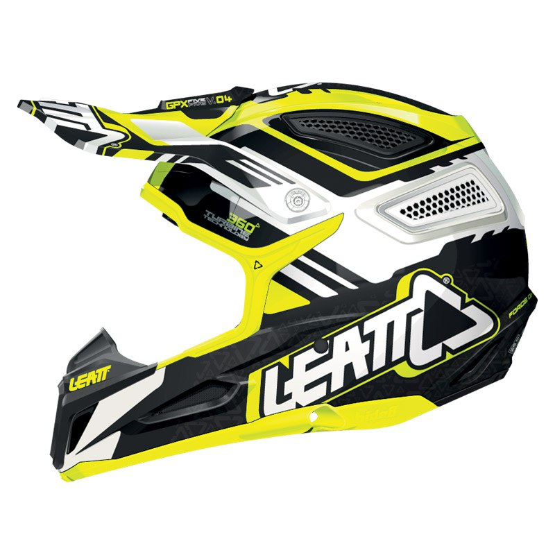 Casque Cross Leatt Gpx 5.5 Composite - Jaune/noir