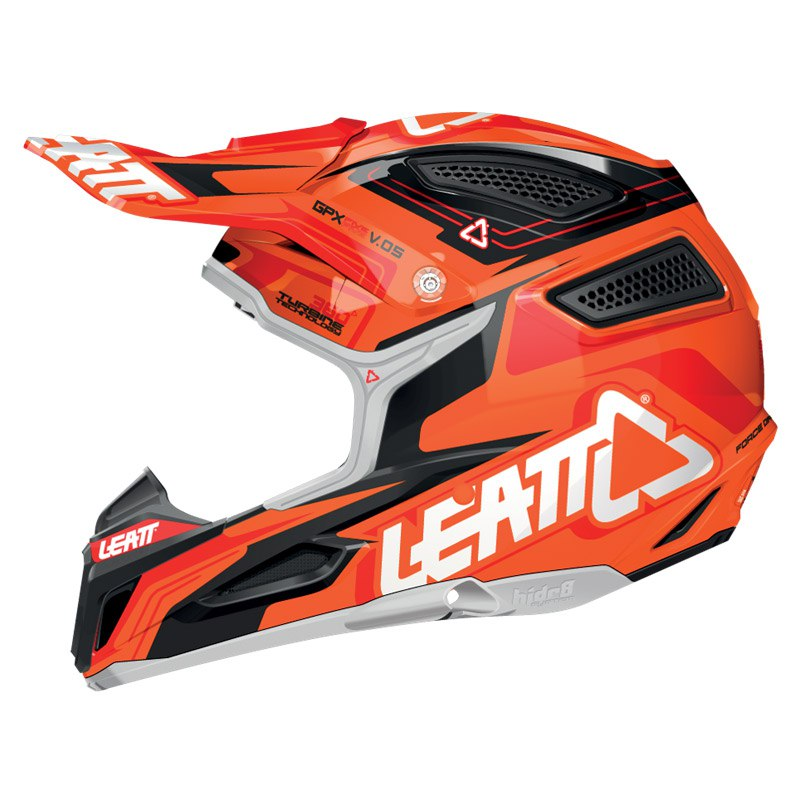 Casque Cross Leatt Gpx 5.5 Composite - Orange/noir