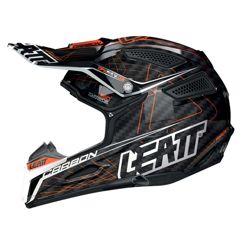 Casque Cross Leatt Gpx 6.5 Carbone Jr -
