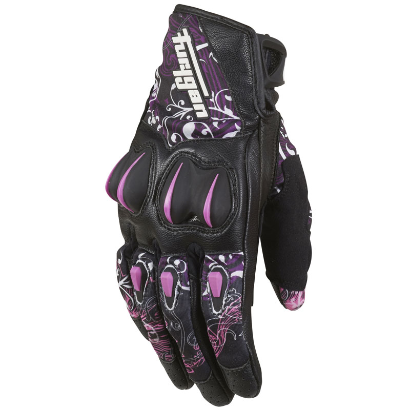 Gants Furygan GRAPHIC LADY NOIR ROSE