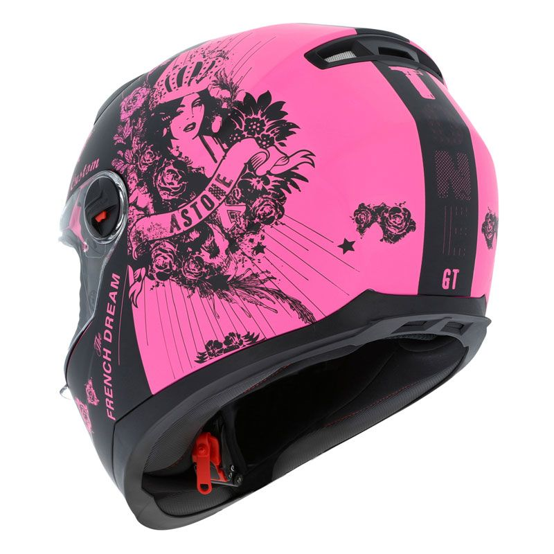 Casque Astone GT2 GRAPHIC LADY CUSTOM