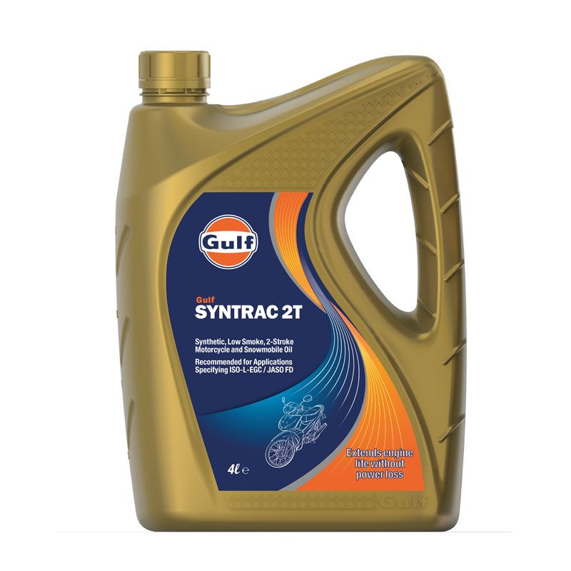 Huile moteur Gulf Syntrac 2T 4 litres