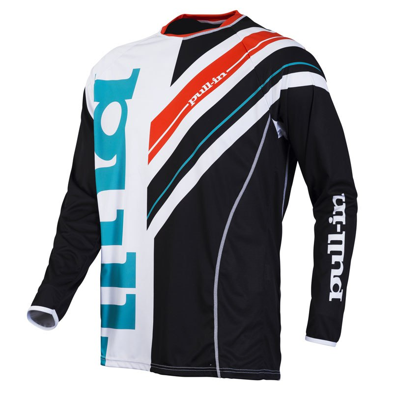 Maillot Cross Pull-in Frenchy Noir/blanc