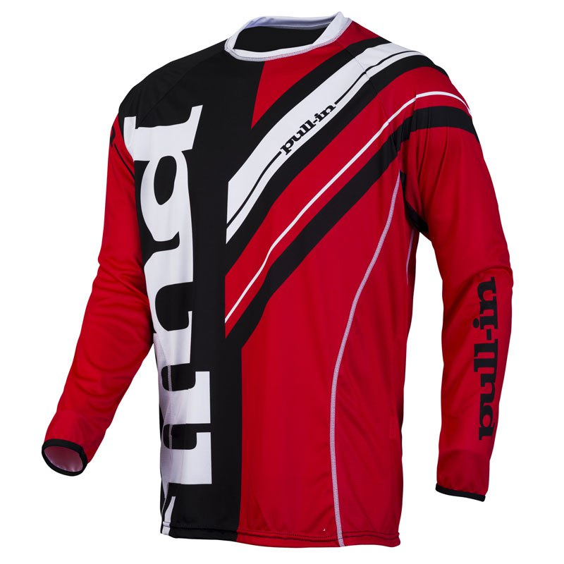 Maillot Cross Pull-in Frenchy Rouge/noir