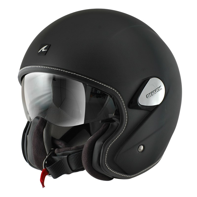 Casque Shark destockage HERITAGE BLANK MAT