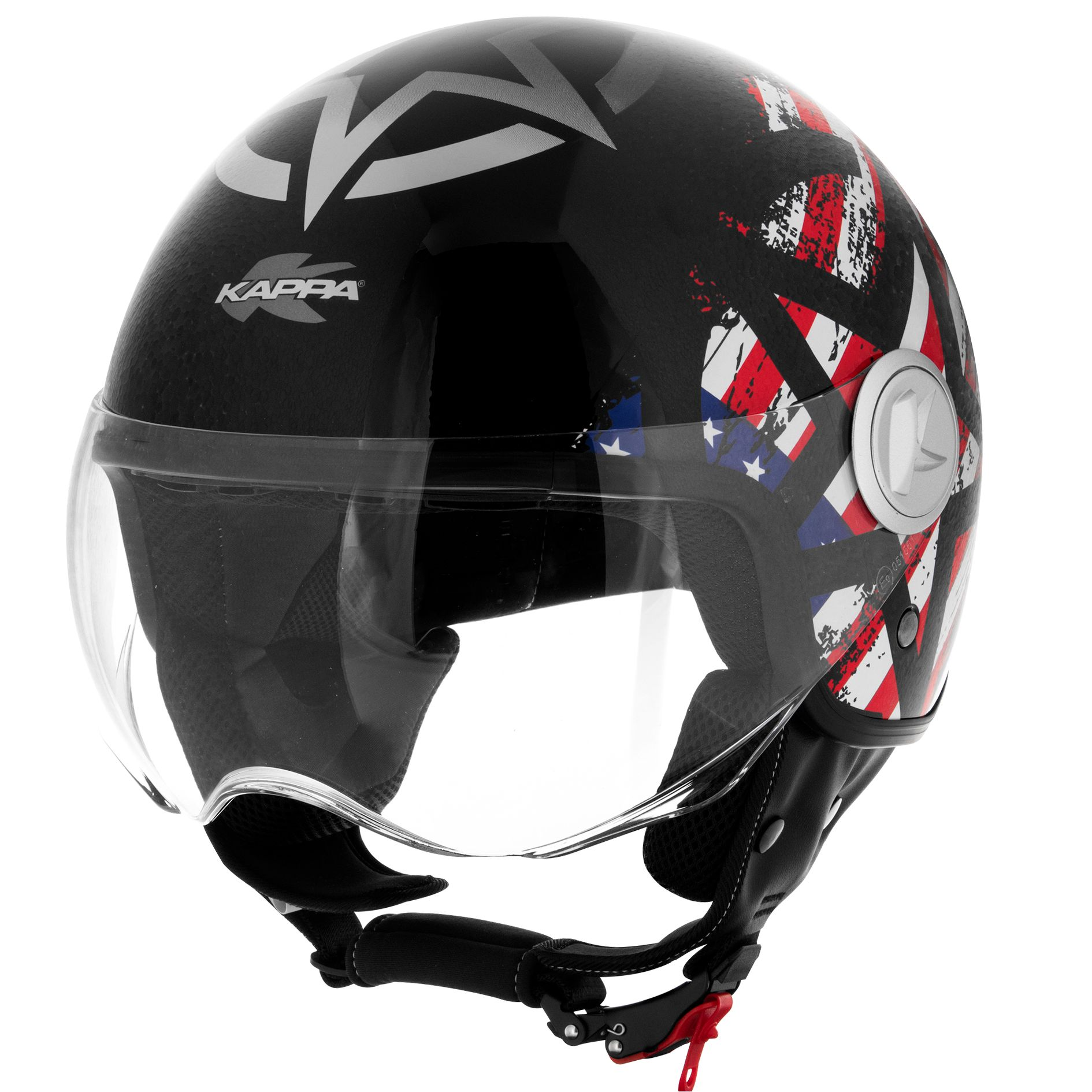 Casque Kappa Kv20 Rio Graphic Usa