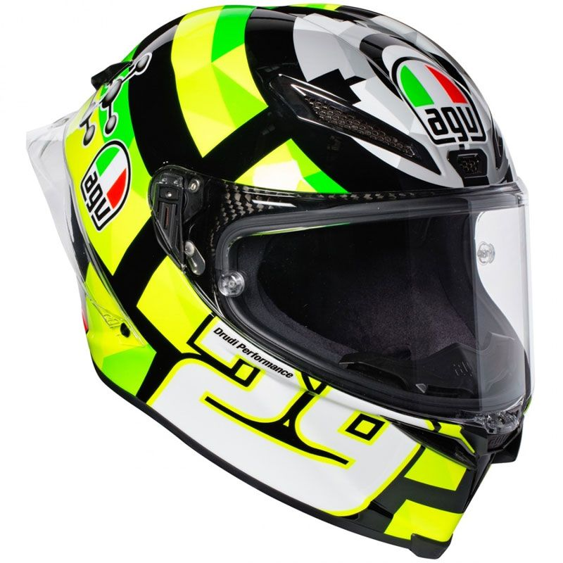 Casque AGV PISTA GP R - REPLICA IANNONE CARBON 2017
