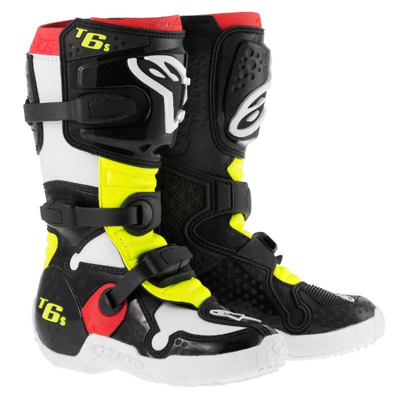 styles classiques moderne et élégant à la mode acheter pas cher Bottes cross Alpinestars TECH 6S YOUTH BOOT (ENFANT)