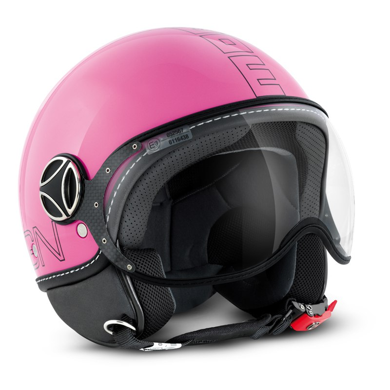 Casque Momo Design Fighter Glam Rose