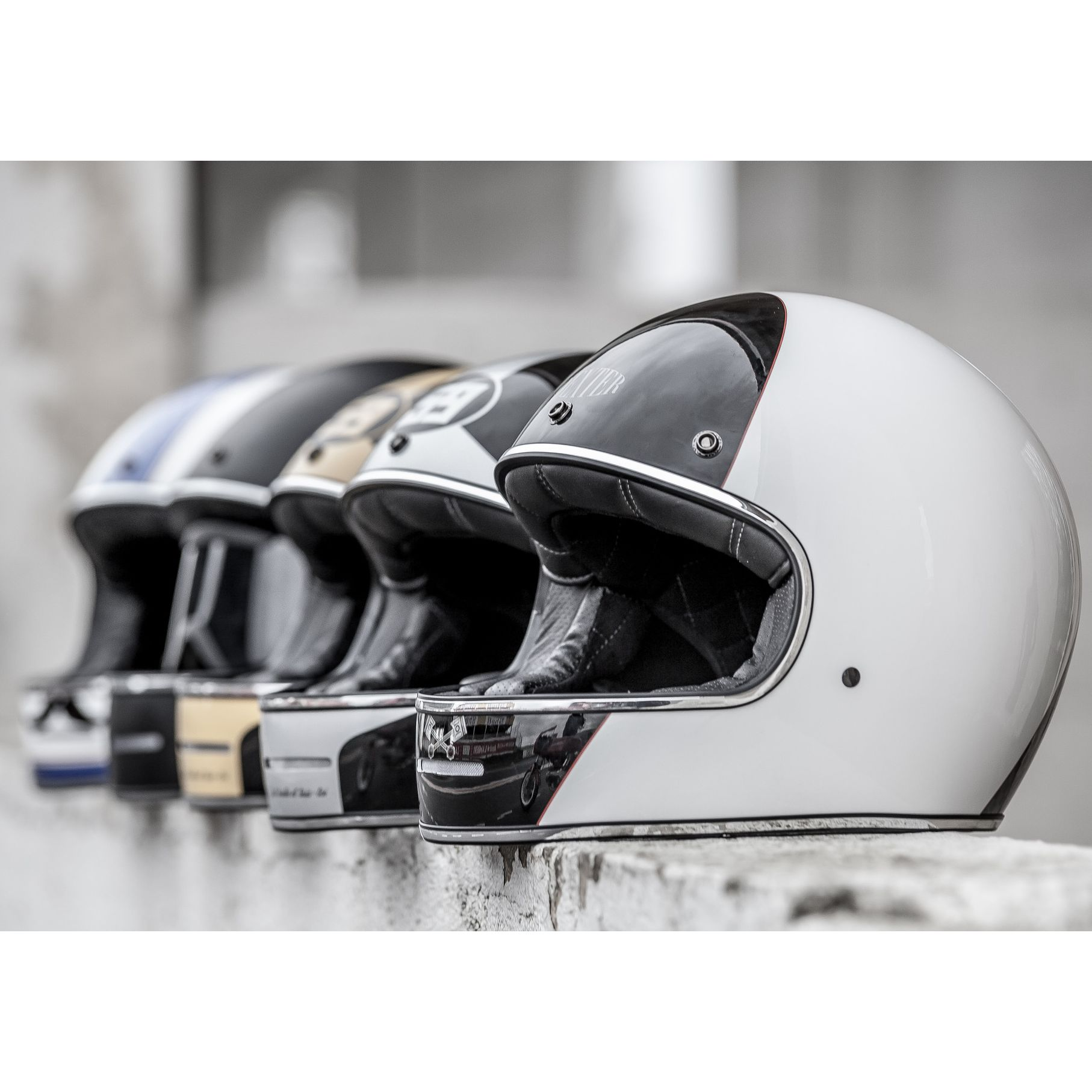 Casque Dexter MARTY PISTONS