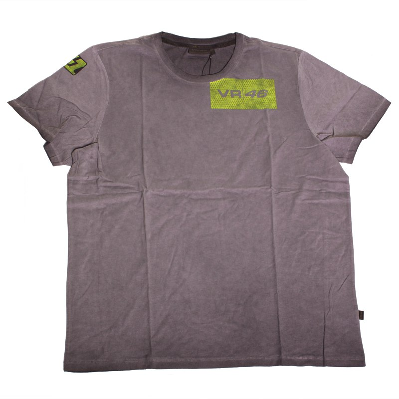 T-Shirt manches courtes VR 46 STONE WASHED ADULTE