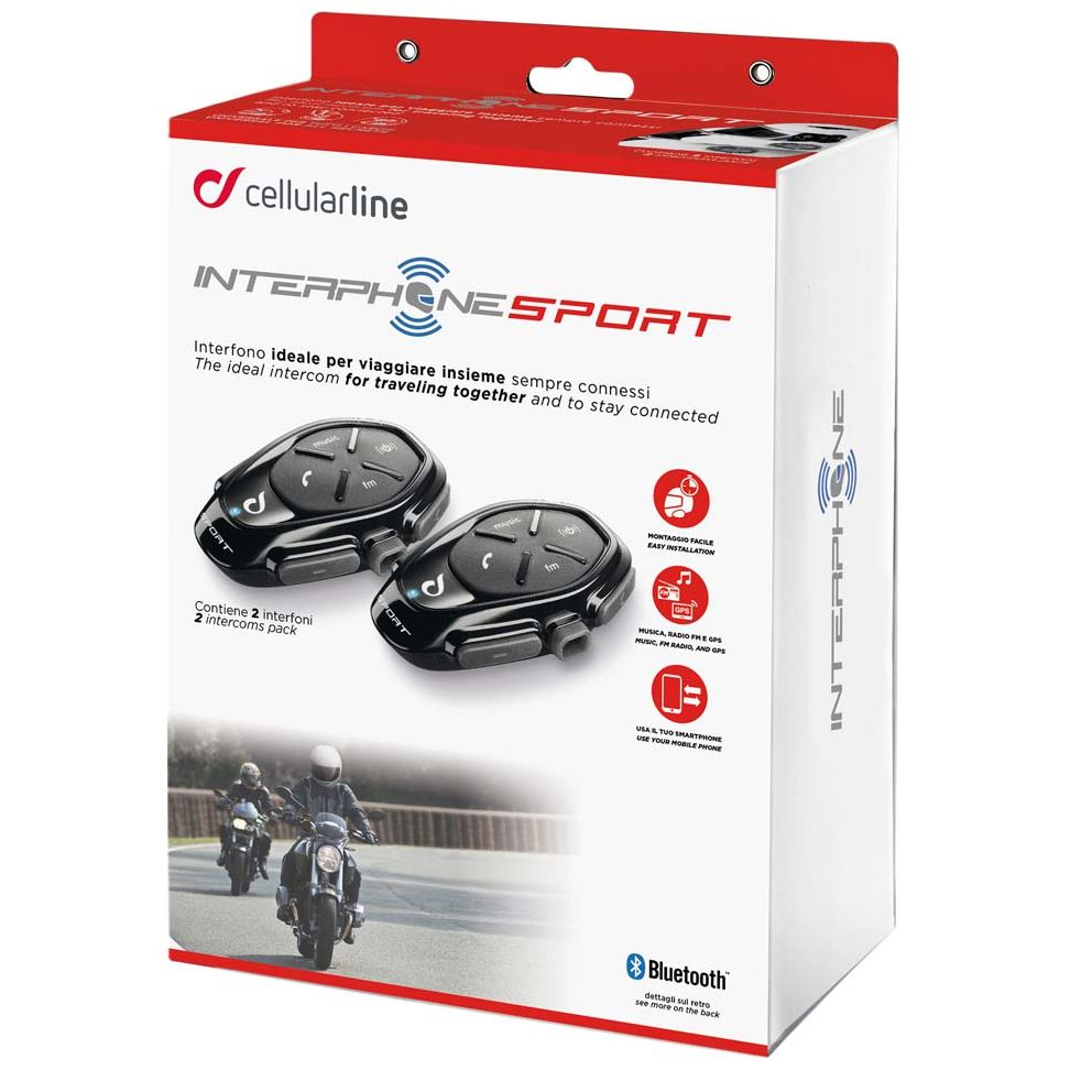 Intercom Cellular Line Sport Twin Pack