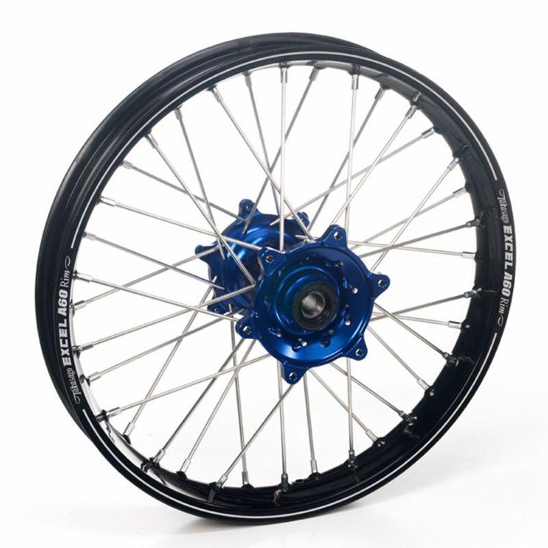 roue haan wheels arri re dimension noir bleu partie cycle moto cross. Black Bedroom Furniture Sets. Home Design Ideas