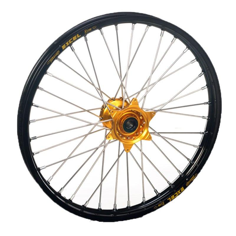 roue haan wheels arri re dimension noir or partie cycle moto cross. Black Bedroom Furniture Sets. Home Design Ideas