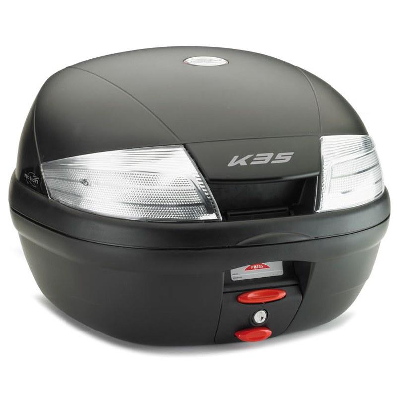 top case kappa monolock k35nt bagagerie moto. Black Bedroom Furniture Sets. Home Design Ideas