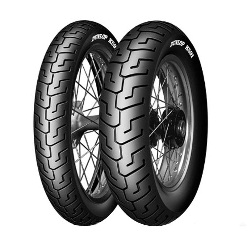 Pneumatique Dunlop K591 130/90 B 16 (64V) TL