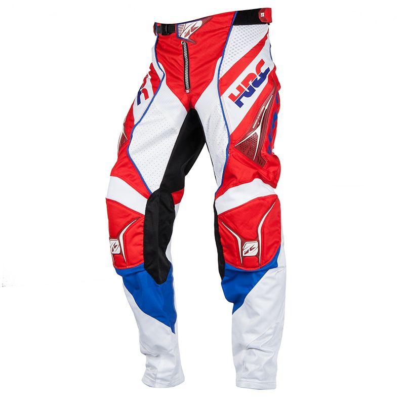 Pantalon cross Kenny destockage HONDA MX HRC REPLICA METGE - RED BLUE 2018