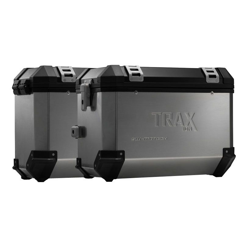 Valise SW-MOTECH KIT COMPLET TRAX ION GRIS 45/37 L