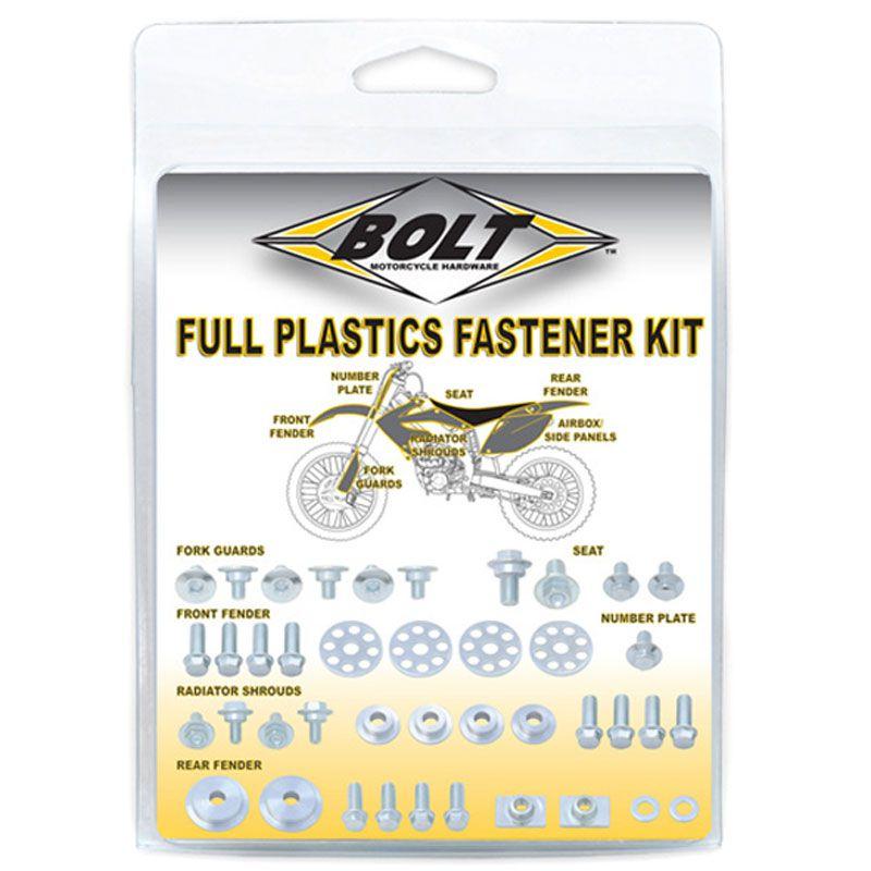 Kit Bolt Visserie Complete Pour Plastiques