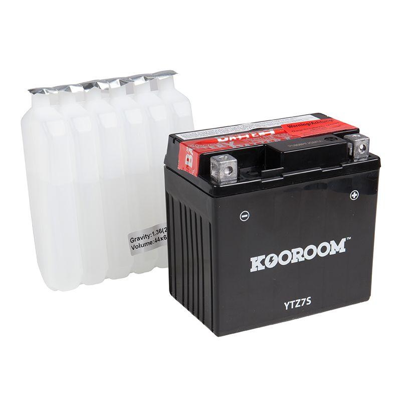 Batterie KOOROOM Batterie YTZ7S AGM