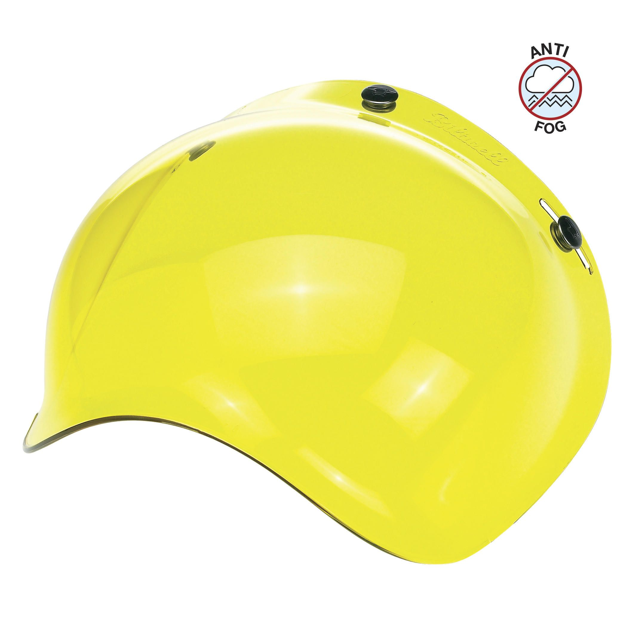 Ecran casque Biltwell Inc BUBBLE YELLOW - GRINGO