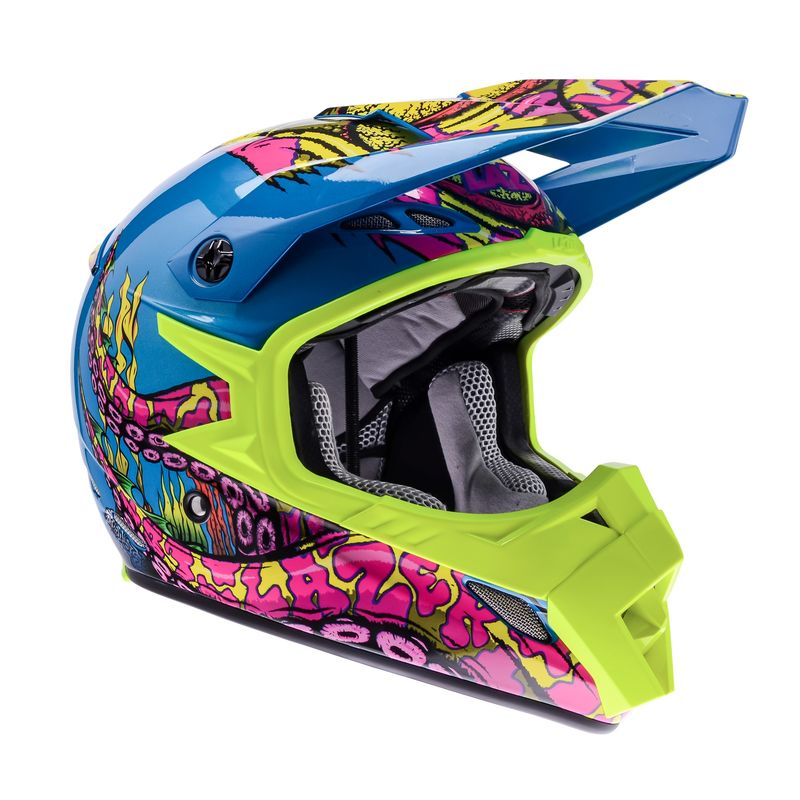 Casque cross Lazer MX8 PURE GLASS OCTOPUS 2017