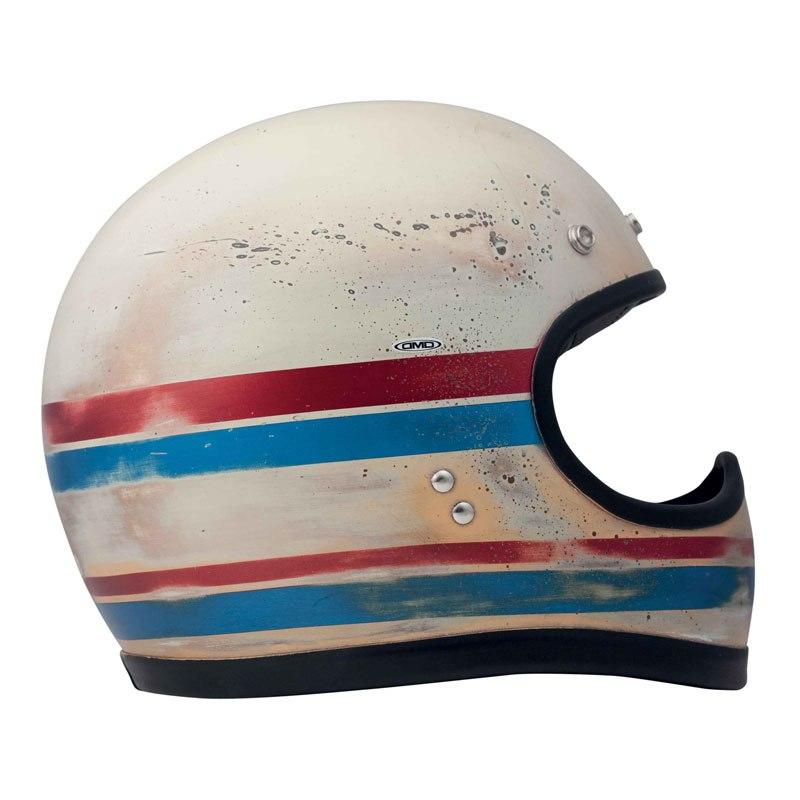 Casque Dmd Racer Handmade Line Matt