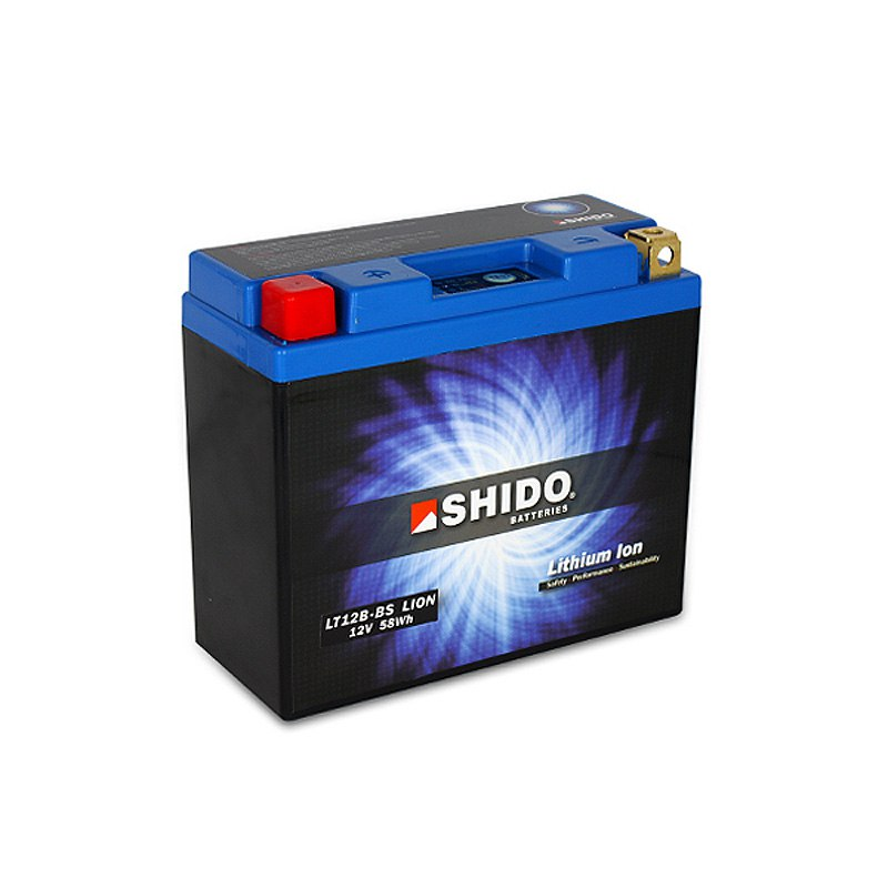 Batterie Shido Lt12b-bs Lithium Ion Type Lithium Ion