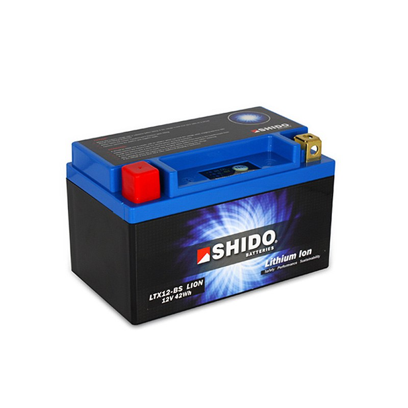 Batterie Shido Ltx12-bs Lithium Ion Type Lithium Ion