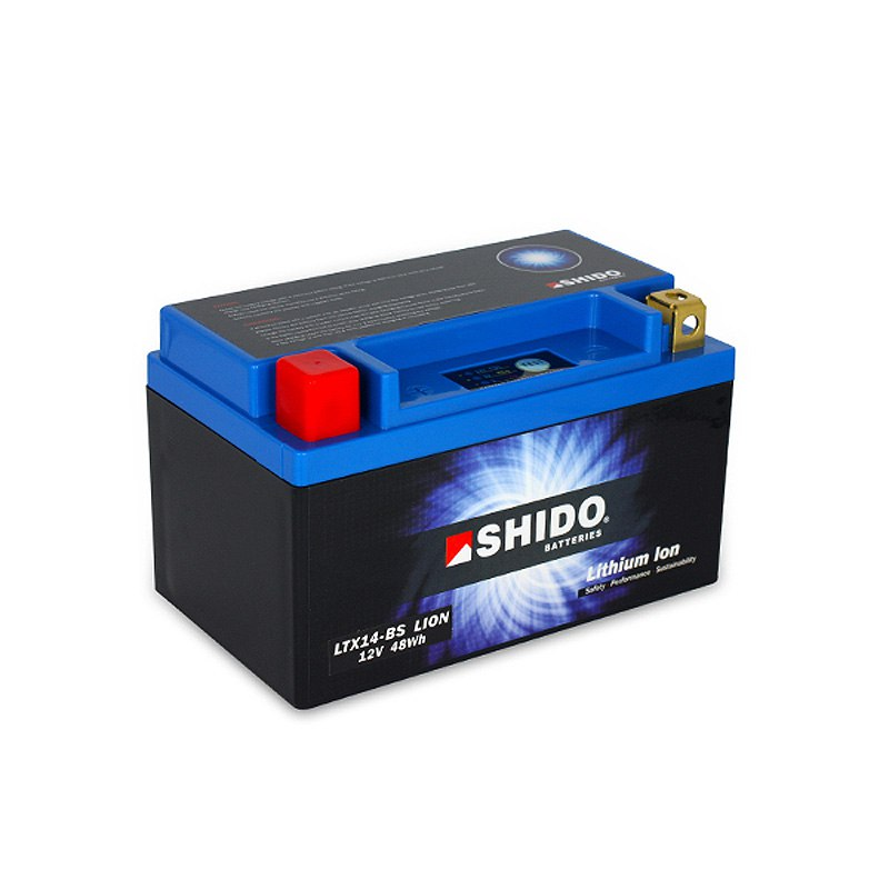 Batterie Shido Ltx14-bs Lithium Ion Type Lithium Ion